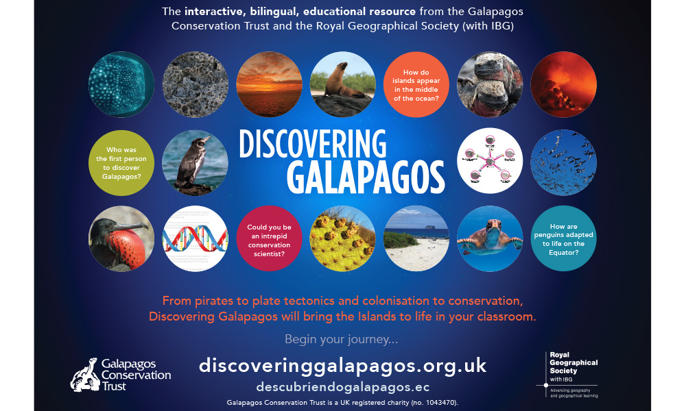 Projects, Discovering Galapagos