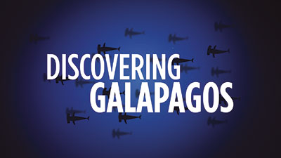 Discovering Galapagos website image