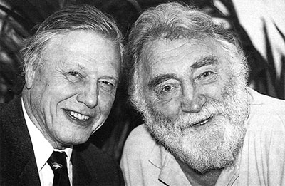 Inaugural Event - David Attenborough and David Bellamy