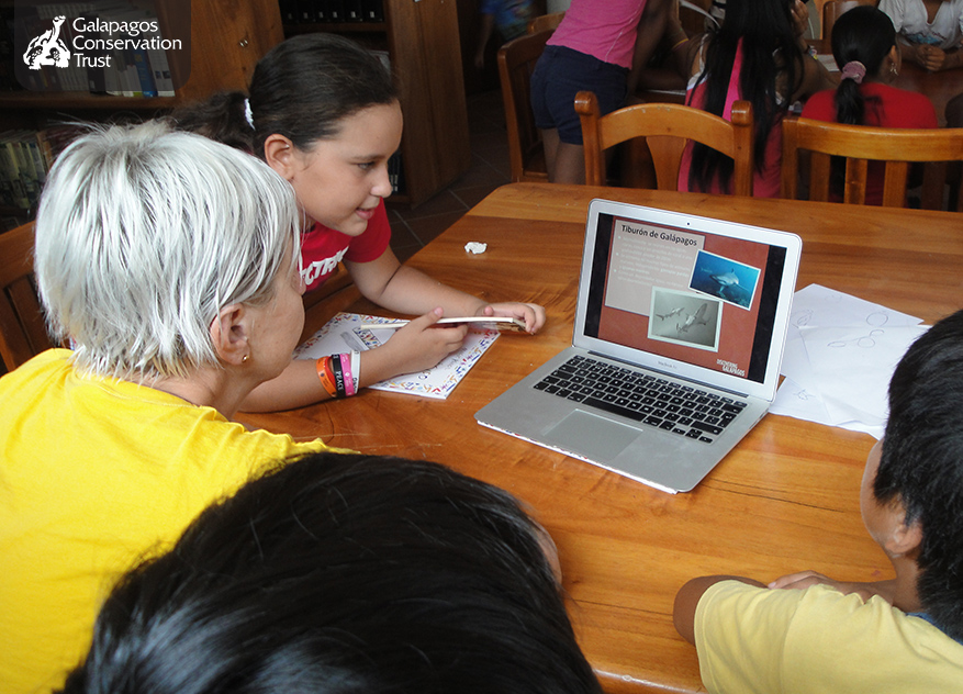 Projects, Discovering Galapagos with ©The Book Bus