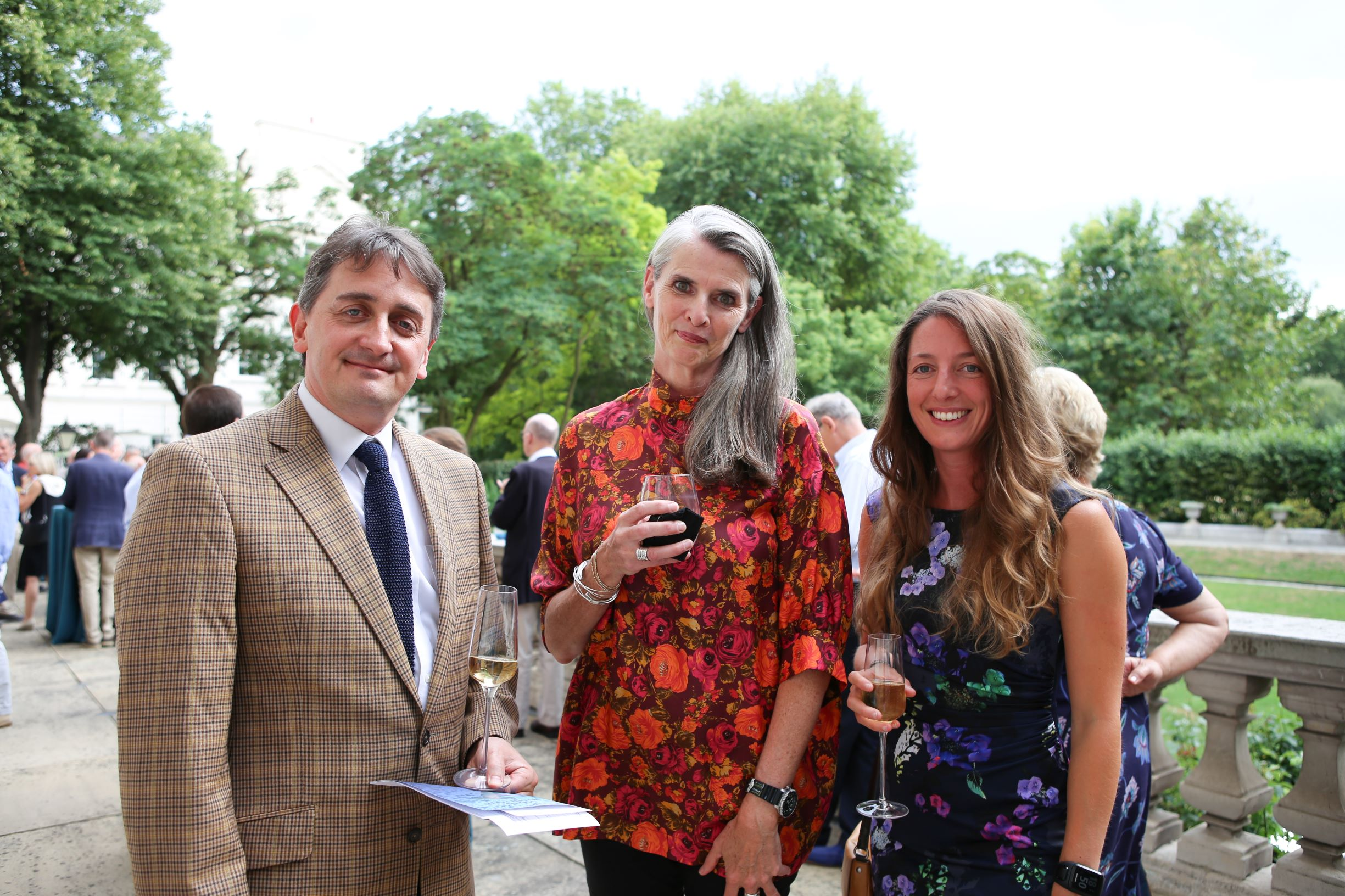 Jon Copley, Orla Doherty and Leigh Marsh - Oceans Garden Party 2018 © Akemi Yokoyama
