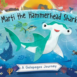 Educational book - Marti the hammerhead shark