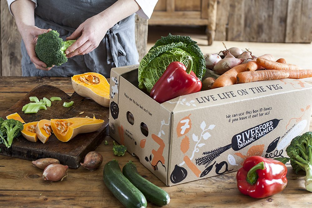 Riverford veg box raffle prize © Riverford Organic Farmers