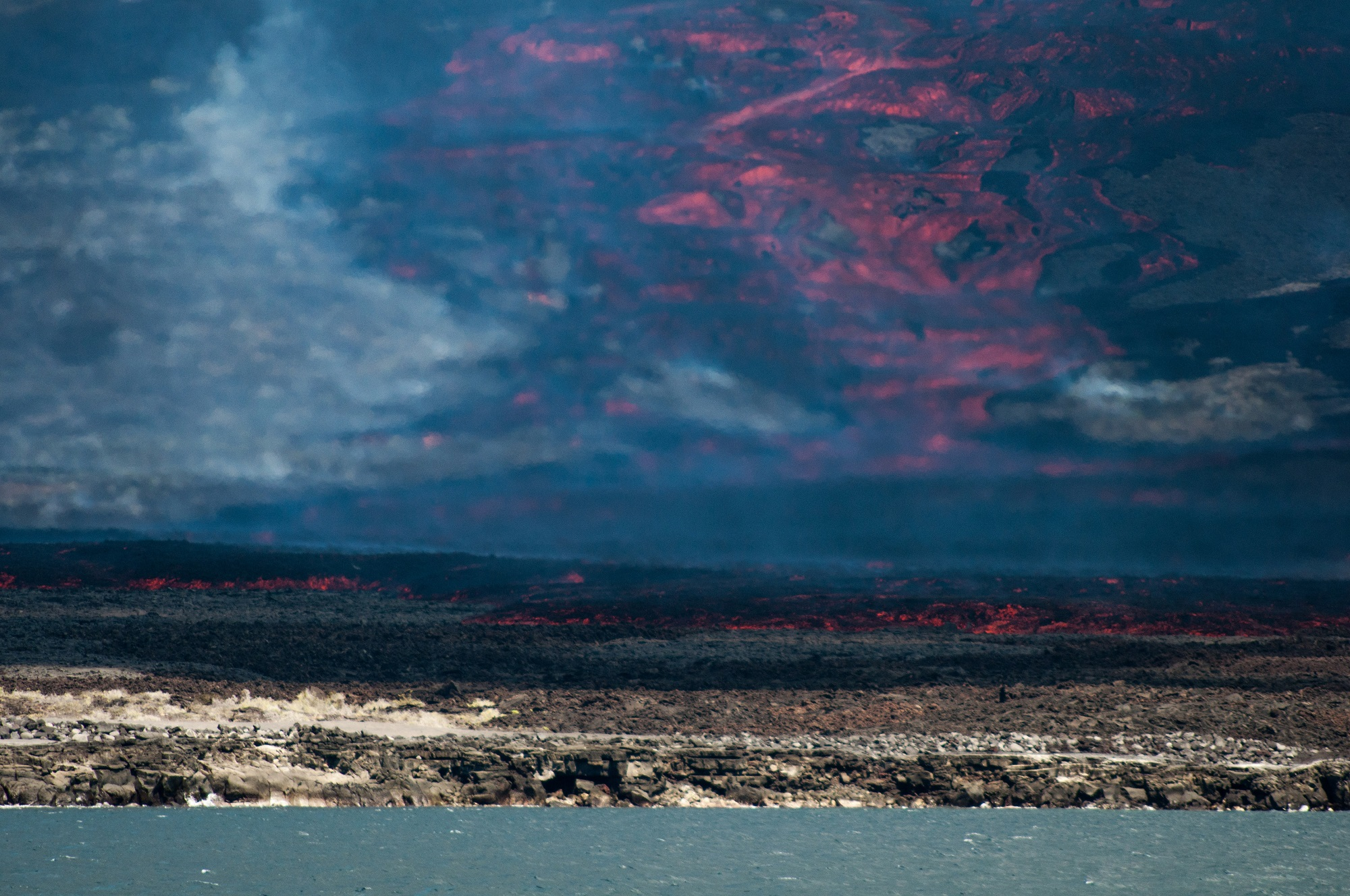 2018 eruption on Isla Fernandina - Stefano Angiò